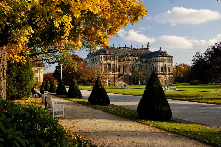 Großer Garten Dresden Park In Dresden